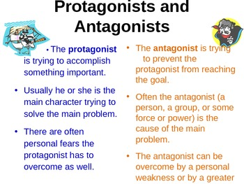 Protagonist And Antagonist Lesson And Practice By