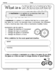 Pulleys and Gears Workbook (Grade 4 Science) by Teacher