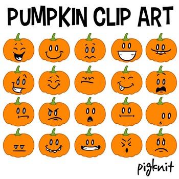 pumpkin clip art face
