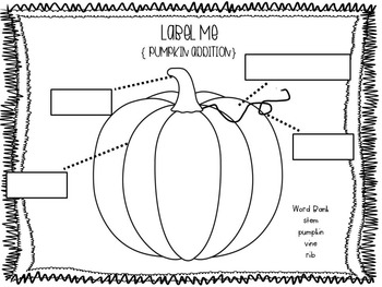 Pumpkin Pack { a common core aligned lesson } by victoria
