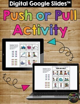 Push and Pull Worksheets A Force and Motion Activity