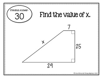 Pythagorean Theorem (Includes Converse and Word Problems