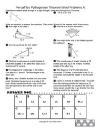 Pythagorean Theorem Word Problems for... by Magnificent ...