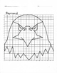 Quadrant 1 Coordinate Graph Mystery Picture, Raymond Eagle
