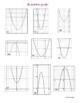 Quadratic Functions Card Sort Activity (Match graph