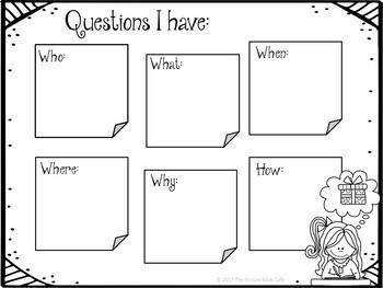 Questioning-Asking Questions When We Read by The Picture