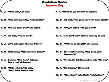 Quotation Marks Task Cards 2nd 3rd 4th Grade by Science