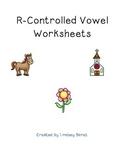 R-controlled Vowel Worksheets (er, Ar, Or, Ir, Ur