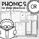 R Controlled Vowels Worksheets Teaching Resources