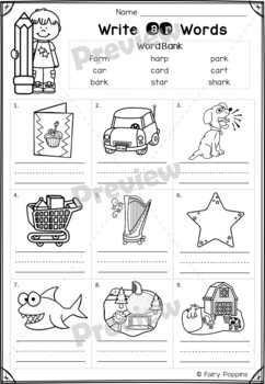 R Influenced Vowels Games and Activities by Fairy Poppins