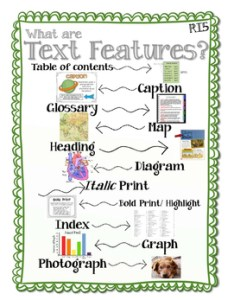 also ri text features anchor chart by thing one and grade two tpt rh teacherspayteachers