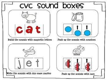 Kindergarten Phoneme Segmentation Fluency Worksheets