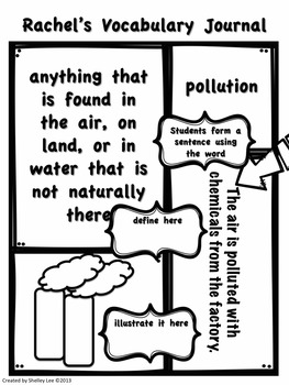 Rachel Eaker: Recycling, Pollution, Conservation, third