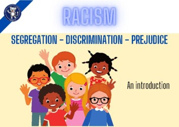 Racism Prejudice And Discrimination PPT By Tigerlearn TpT