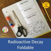 Radioactive Decay Earth Science Worksheet. Radioactive ...