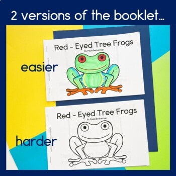 Rainforest Readers Red-Eyed Tree Frogs Guided Reading Book