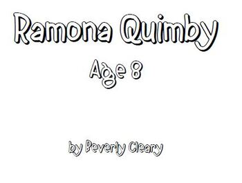Ramona Quimby Age 8 Lit Group Packet by Just Your Average