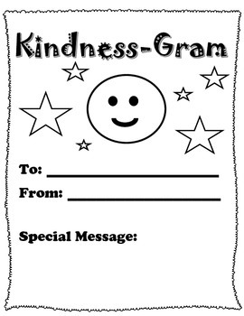 Random Acts of Kindness Week Activity Pack/School
