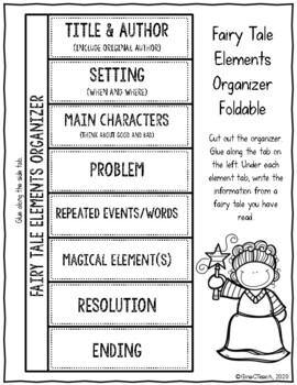 Read and Write Fairy Tales: Graphic Organizers, Foldables