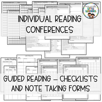 Reading Assessment Forms {Guided Reading & Conference