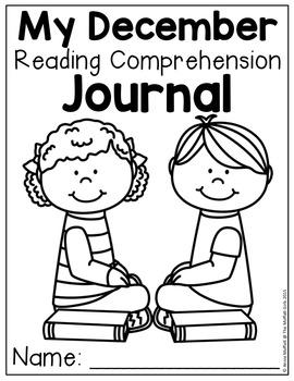 Reading Comprehension Checks for December (NO PREP) by The