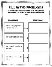 Reading Comprehension: Focus on Problem and Solution by