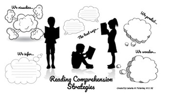 Reading Comprehension Graphic Organizers (Silhouette) by