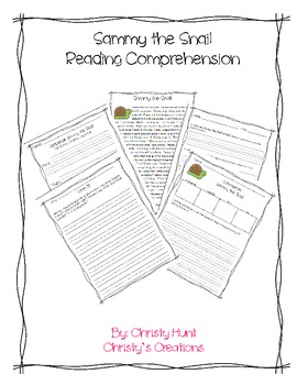 Reading Comprehension Pack