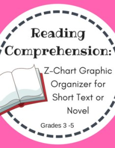 Reading comprehension  chart graphic organizer also by teacher   edition rh teacherspayteachers