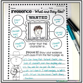 Editable Reading Comprehension w/Graphic Organizers
