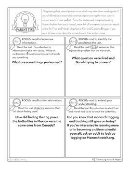 Reading Fluency Homework Level R Set 1 by Second Story