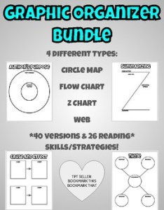 Reading graphic organizer bundle also by bookmark this that tpt rh teacherspayteachers