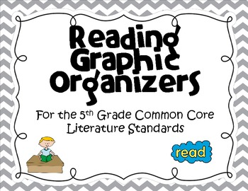 Reading Graphic Organizers (5th Grade Common Core