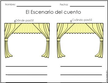 Spanish Graphic Organizers by Sra Casado Spanish and Math