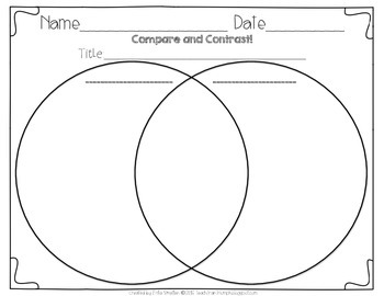 Reading Graphic Organizers for K-2 Classrooms! by Teach