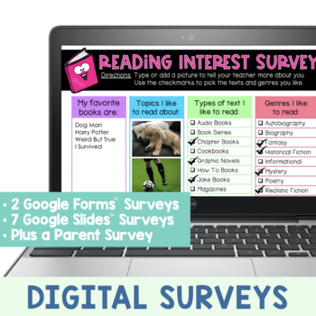 Reading Interest and Attitude Surveys by The Reading