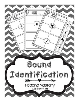 Reading Mastery: Sound Identification by The Little