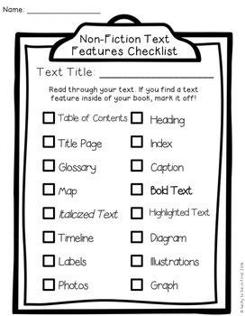 Reading Response Comprehension Sheets for Non-Fiction
