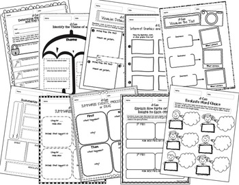 Reading Response Templates {ANY Fiction or Nonfiction Text
