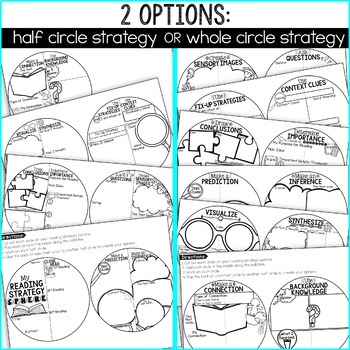 Reading Strategies Sphere Craft: Reading Comprehension