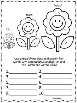 Centers and Printables For All Ability Levels, Where Are
