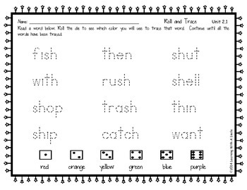 Reading Street First Grade Spelling and High Frequency