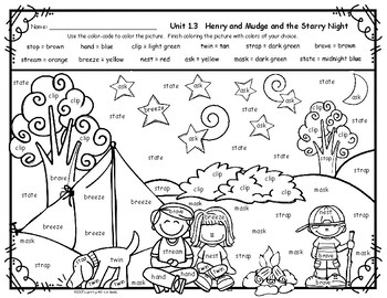 Reading Street Grade 2 FREE Color by Word HENRY AND MUDGE