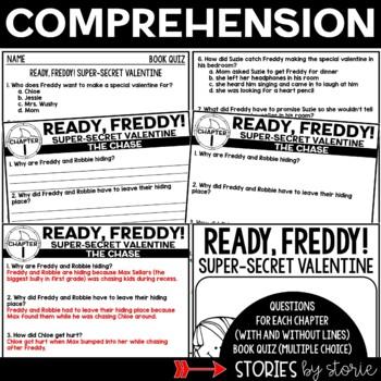 Ready, Freddy! Super-Secret Valentine by Stories by Storie