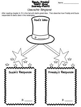 Ready, Freddy! Talent Show Scaredy-Pants Book Study by