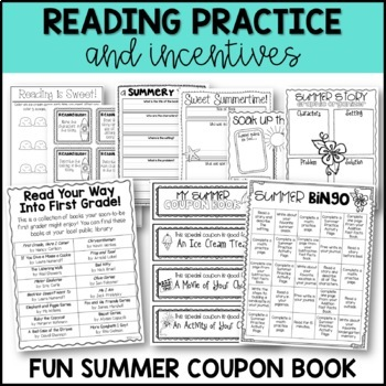 Summer Practice {Ready Made for First Grade!} by Miss
