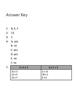 Ready Math Lesson 2 Quiz 3rd Grade by Welden's Wise Words