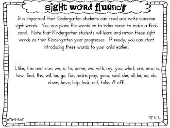 Ready, Set, Kindergarten {introduction to K ELA & Math