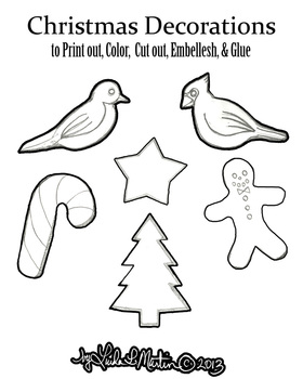 Print Christmas Decorations