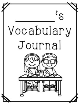 ReadyGEN Third Grade Vocabulary Journal by Southern